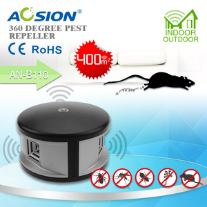 Image 2 - Miễn phí vận chuyển Nhà Aosion 360 độ siêu âm Chuột kiểm soát loài gặm nhấm chuột chuột repellent và điện tử pest repeller kiểm soát