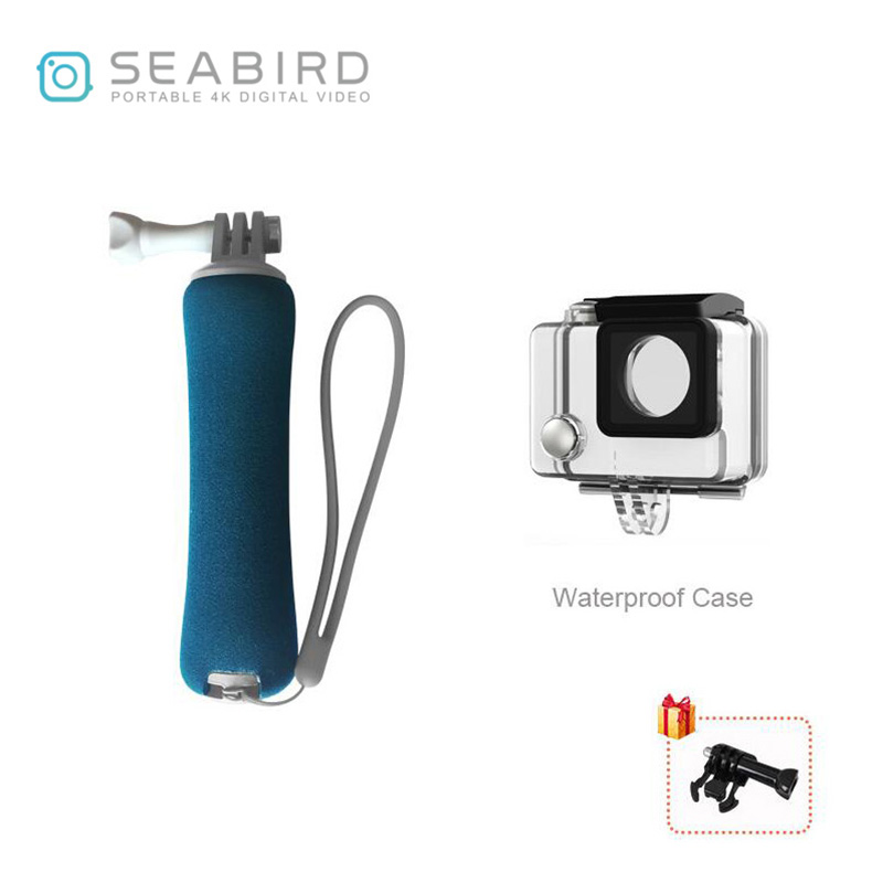 SearBird Sport Action Camera Floating rod and Waterproof <font><b>Case</b></font> for diving and Swimming image