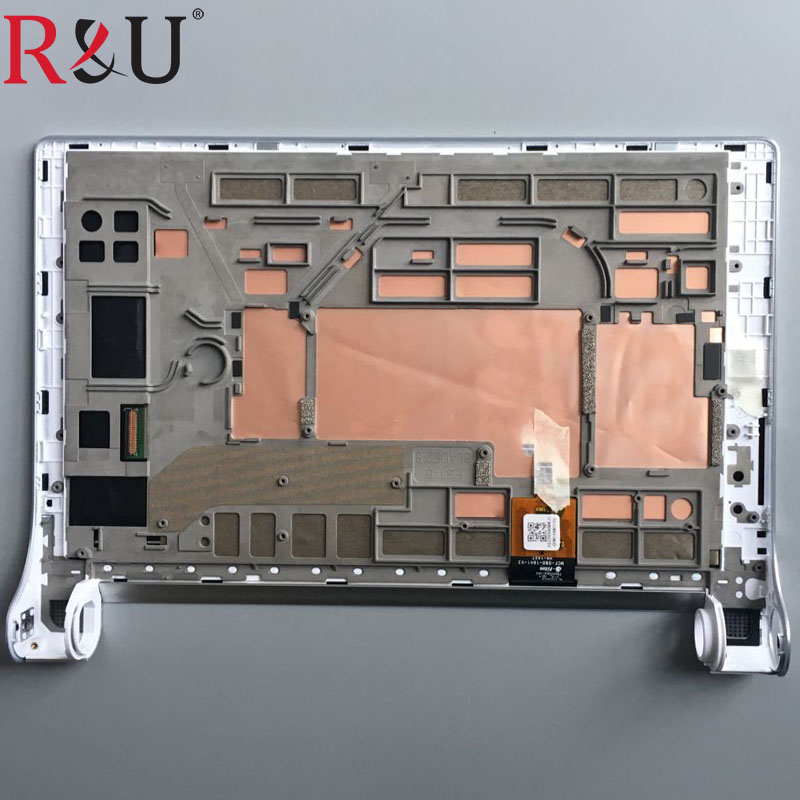 R&U 8 inch LCD Display Touch Screen Digitizer Assembly Replacement For Lenovo YOGA2 Tablet 2 830 830F Silver