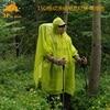 3F UL Gear Hiking Poncho 3 in 1 Raincoat Ultralight Tarp Rain Jacket 1