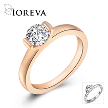 anel rings for women AAA cz diamond rose gold plated party ring fine jewelry anillos feminino sobretudo aneis bague aros anelli