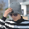 2016 New Fashion Male Toucas Beanie Hat Knit Winter Hat for Men Skullies Beanies for Brand Hat De Inverno Gorros Protect Ears