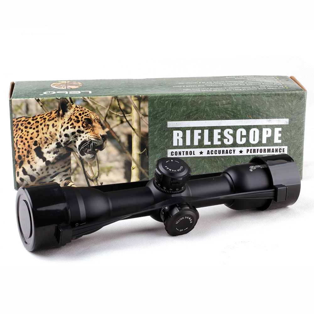 Tactical LEBO 6x32 AO Mil-Dot Optical Sight Compact Lock Rifle Scope For Hunting Riflescope винтовочный оптический прицел leapers utg 6 x 32 mil dot 6x32