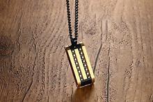 Модное ожерелье в европейском и американском стиле мужские ожерелья