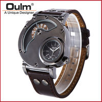 Fashion Design Oulm Men S Army Watch Japan Quartz Movement Gift Box Packed Oulm Watch With