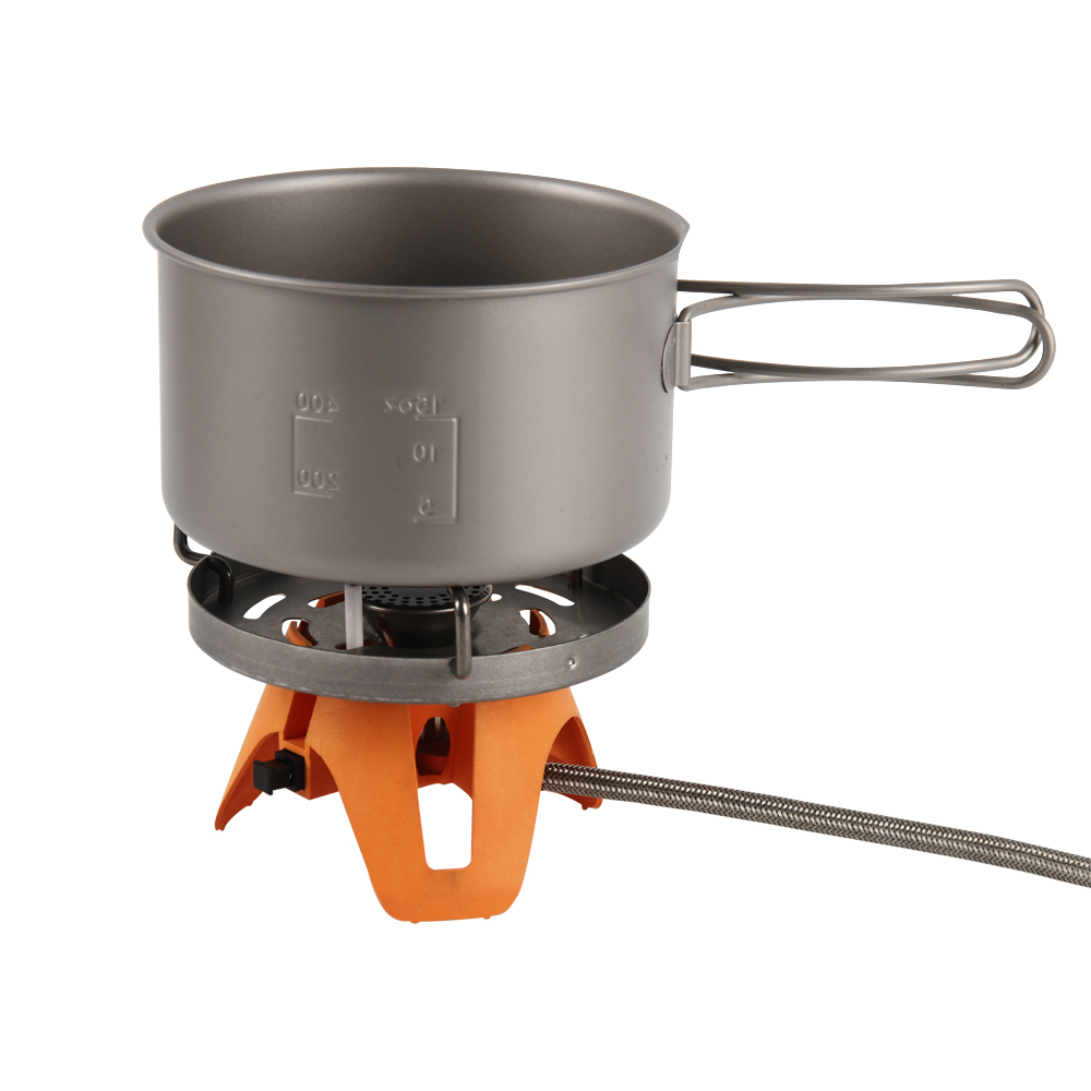 Camping Gas Stove Heat Exchanger Pot Fires Personal Cooking System Portable Multi Split Furnace Burners Camping Equipment in Outdoor Stoves from Sports Entertainment