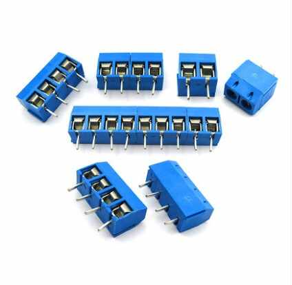 10 PCS-5 PCS PCB terminals KF301-2P 3 P 4 P 5 P 6 P 7 P 8 P 9 P 10 P Pitch 5.0mm Straight Pin Schroef PCB Blokaansluiting