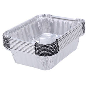 Disposable Tableware Containers Food-Box Aluminium-Foil Takeaway 10pcs 2 220ML Pans Cup