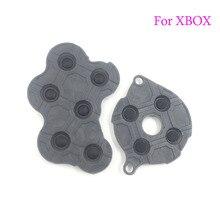 30 комплектов сменных запасных частей проводящая резиновая кнопка D Pad для Xbox силиконовые резиновые ключи