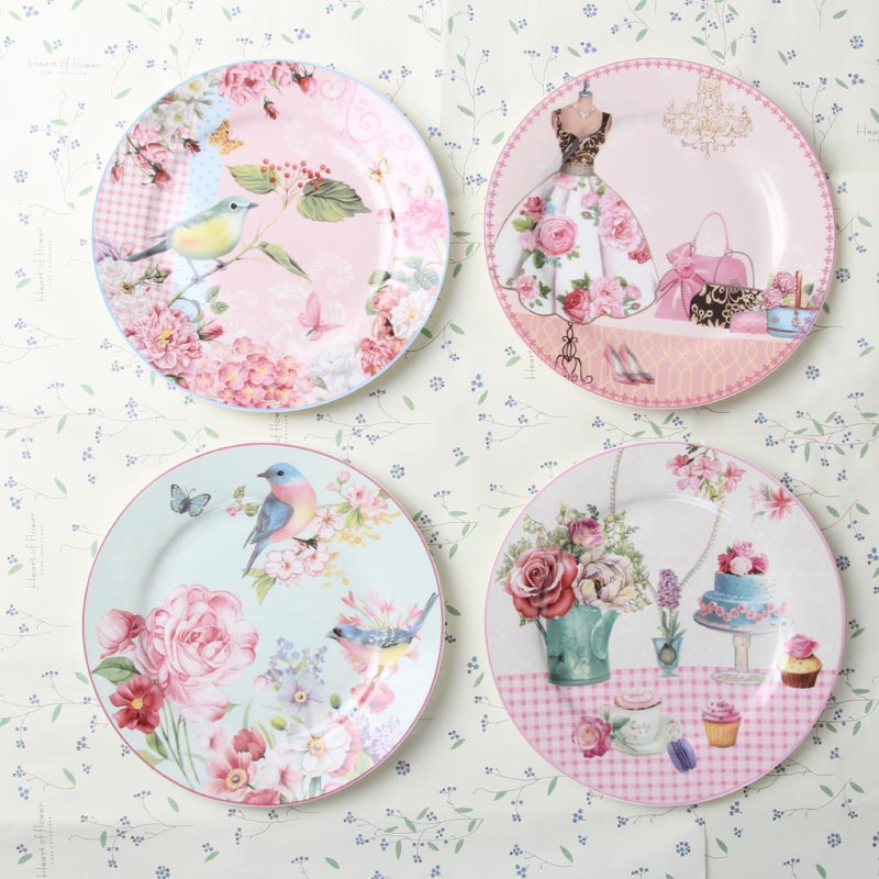 european rural bone china cake dishes and plates porcelain pastry fruit tray ceramic tableware. Black Bedroom Furniture Sets. Home Design Ideas
