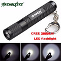 Super Mini 3000LM Zoomable CREE Q5 LED Flashlight 3 Mode Torch Super Bright Light Lamp