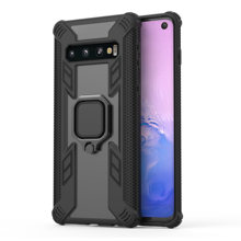 цена на Conelz For Samsung Galaxy S10 S10 Plus Phone Case Protective Shockproof Armor Case w/ Magnetic Grip Ring Holder Back Case Cover
