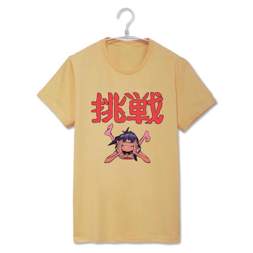 Размытие Gorillaz Dare в стиле панк Рок модная футболка для мужчин женщин  Топ tee пункт