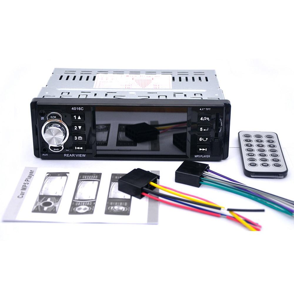 Radio samochodowe BYNCG 4016C Gorąca sprzedaż 1 Din Car MP5 Player - Elektronika Samochodowa - Zdjęcie 3