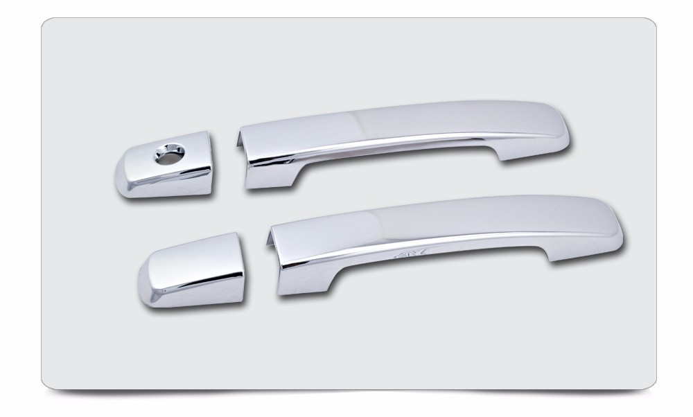 Car Door Handle Cover Parts No PSKH For Nissan Pathfinder 2D King Cab 2004-2012 ABS Plating Chrome Accessories c