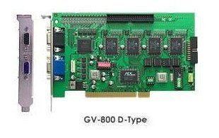 GV-800,V7.05 software and V3.5 hardware,16 ch video and 4 ch audio,120/100fps