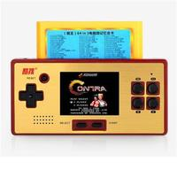 Classic Retro Game Console Handheld Portable 2.6 inch Built in 89 games with 64 in 1 Games Card FC Pocket Player Children