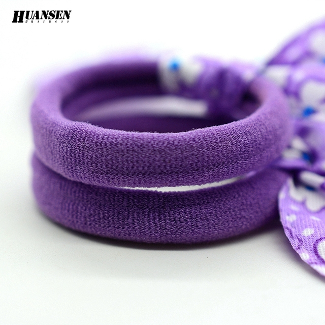 YWHUANSEN 20pcs/lot Rabbit ears Hair band