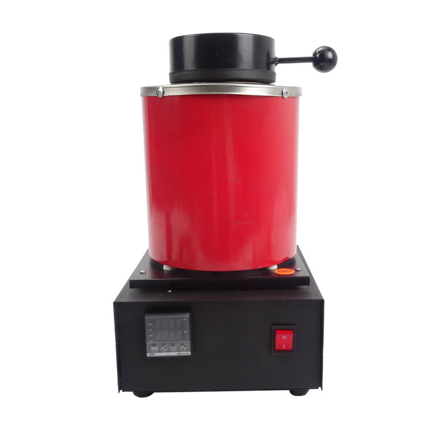220V and 2KG Capacity Gold Electric Melting Furnaces with 1pc Graphite Crucible & Plier,Smelting furnace