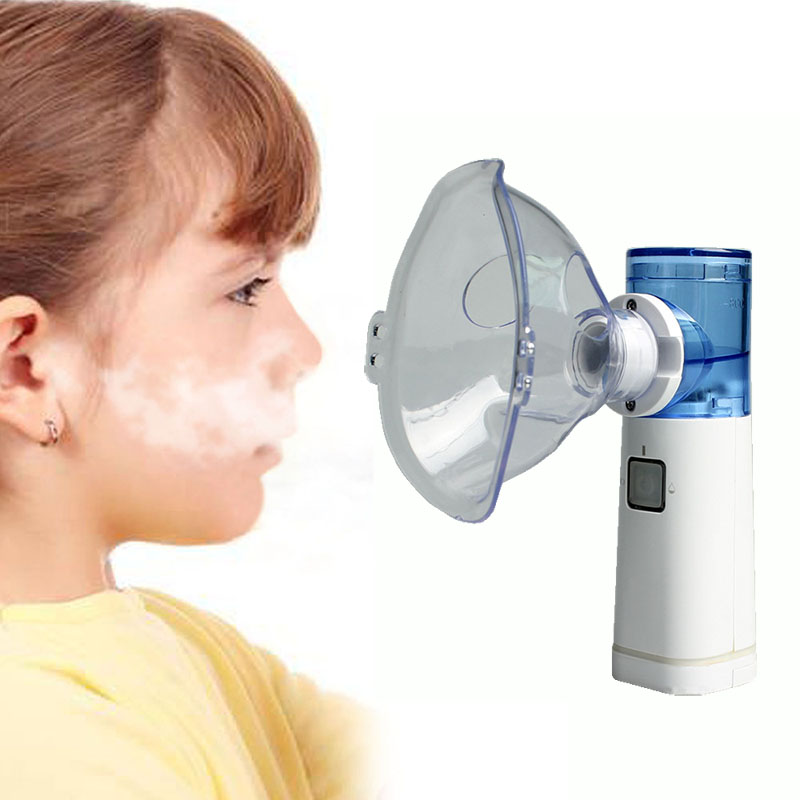 Portable Inhaler Nebulizer Respiratory Medical Atomizer Children Adult Home Rechargeable Steam Asthma Nebulizer oem plastic medical nebulizer mask mold making supplier