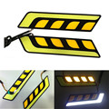 Cls  2pcs LED COB Fog Lamp Car Daytime Running DRL Waterproof with Turn Signal Aug 15