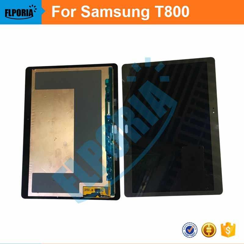 10.5 ''شاشات LCD لسامسونج غالاكسي تبويب S 10.5 T800 T805 شاشة الكريستال السائل مع اللوحي شاشة تعمل باللمس محول الأرقام زجاج لوحة الجمعية شاشة LCD