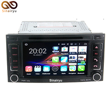 64-Bit CPU 2 GB de RAM Android 7.1 PC Del Coche de Radio DVD para Volkswagen VW Touareg T5 Transporter 2004-2011 GPS de Navegación de Audio unidad