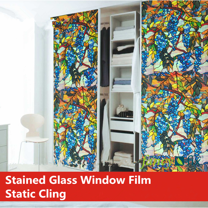 Budget Blinds Stained Gl Decorative Film