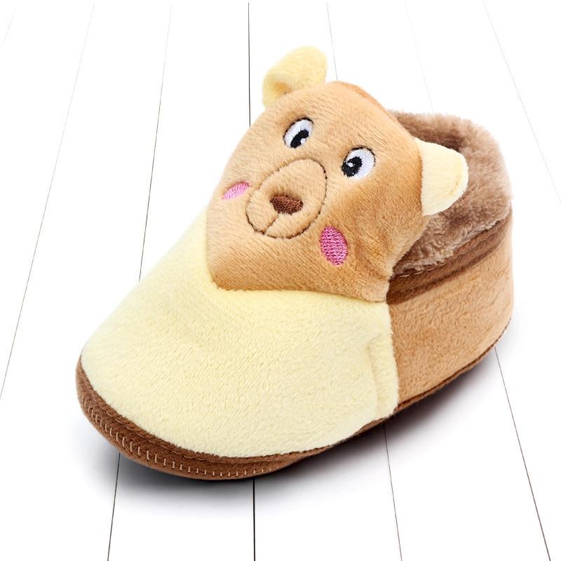 Indoor First Walkers Baby Shoes Cotton Anti-slip Booties Winter Wammer Baby Girl Boy Shoes Newborn Slippers Footwear Booties (10)