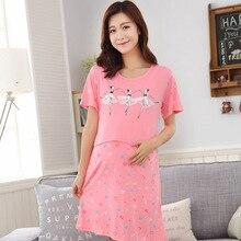 9821b70b73fbe Buy night dress pregnancy and get free shipping on AliExpress.com
