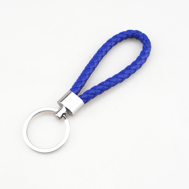 car Hand-woven leather rope <font><b>keychain</b></font> gift for Land <font><b>Rover</b></font> <font><b>Range</b></font> <font><b>Rover</b></font>/<font><b>Evoque</b></font>/Freelander/Discovery image
