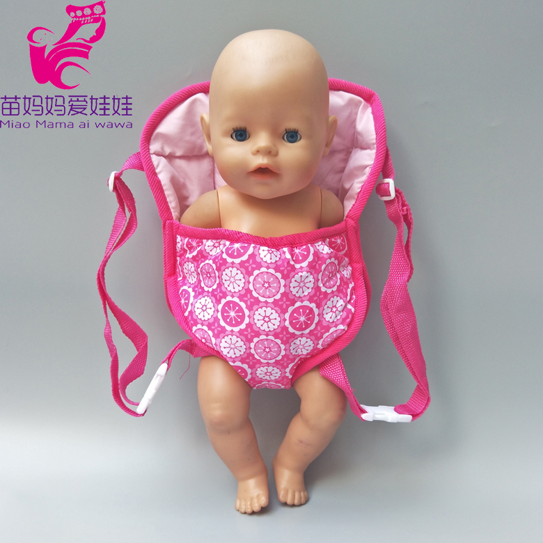 Dolls Out Going Carry Bag Doll Accessory For 43cm Zapf Baby New Born Girl 18 Inch