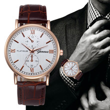 op Brand Luxury Watches Men Geneva Stainless Steel Ultra Thi