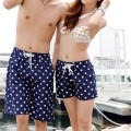 Best Price Couple Stylish Ladies Quick-drying Shorts Stars Pattern Summer Shorts