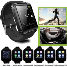 Спорт Bluetooth U8 Наручные Smart Watch Phone Mate Для Android Samsung LG Alcatel Motorola Huawei Lenovo Apple iPhone7 6 6 S