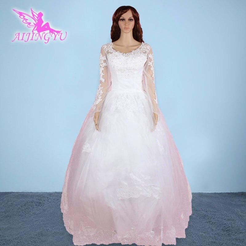 ٩(^‿^)۶AIJINGYU 2017 free shipping new wedding dress church romantic ...