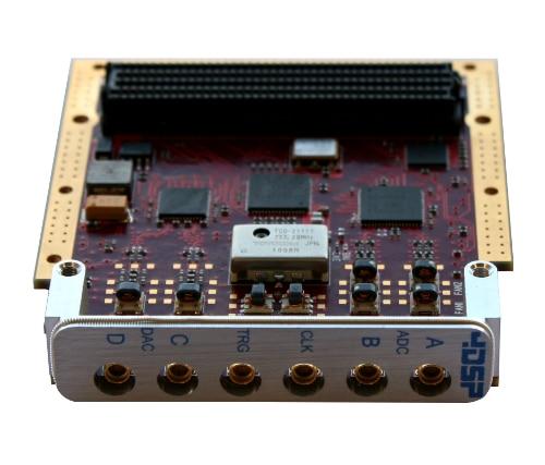 AES-FMC-4DSP150-G high-speed DAC ADC FMC module sub card FMC150-2-1-1-1