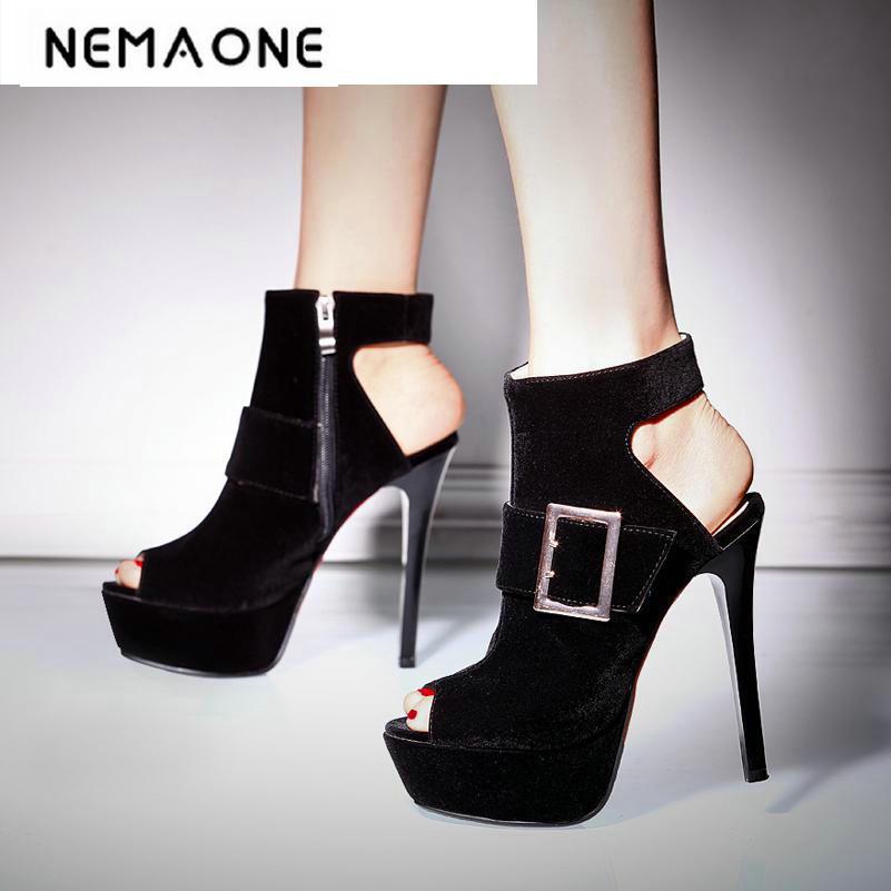Dames rouge Bas Pour Mode Chaussures bleu Talons Rouge Peep Mariage De Et À Femmes Vente Nouvelle Plate forme Pompes Noir Toe Hauts Chaude C6OBOnqw