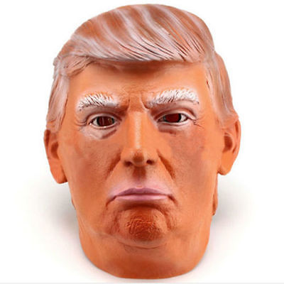 Donald Trump Vladimir Putin Obama Mr.Bean Psy Costume Mask Halloween Realistico maschera di Carnevale in maschera di lattice