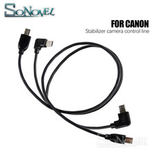 3-eixo Cardan Handheld Estabilizador câmera controle de linha/cabo para Canon nikon D850 para ZHIYUN Guindaste Plus/ 2/M câmera Cardan