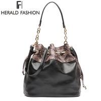 Herald Fashion 2017 Luxury Brand Women Shoulder Bag Designer Handbags Summer Tote Ladies Casual Messenger Bag