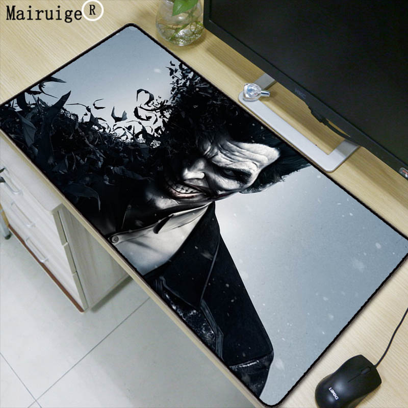 Mairuige Funny Cartoon Anime Large Gaming Mouse Pad Mousepad Locking Edge For Laptop Pc Mouse Pad For Dota2 Lol Csgo Gamer Computer Peripherals