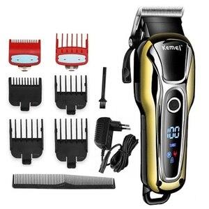 Barber shop hair clipper professional hair trimmer for men beard electric cutter hair cutting machine haircut cordless corded