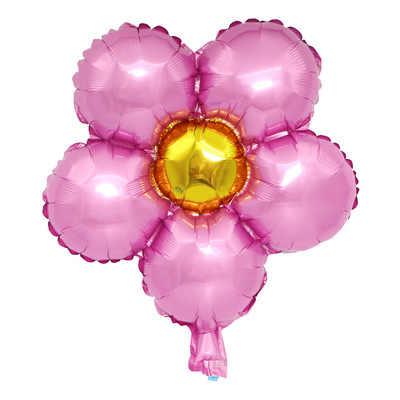 18 cal kwiat folia balon urodziny dekoracje świąteczne dla dorosłych boże narodzenie dekoracje zastanawiam się, kobieta Party dobrodziejstw