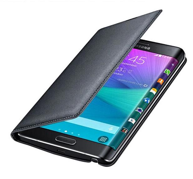 Note edge Leather Case Flip Housing Cover Mask Full Protect Wallet Cases for Samsung Galaxy Note edge N9150 Phone Accessaries