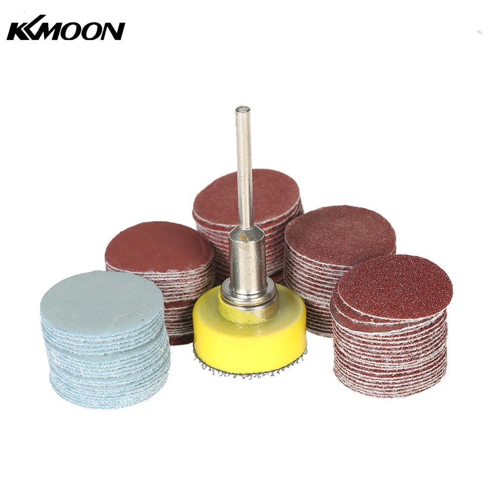 100pcs 25mm 1 Inch Sander Disc Sanding Disk 100 3000 Grit