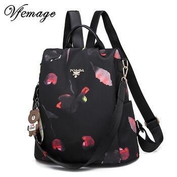 1d99032eb0ad Модный многофункциональный женский рюкзак Оксфорд рюкзак женский  Противоугонный Рюкзак Школьная Сумка для подростков девочек Sac Dos mochila