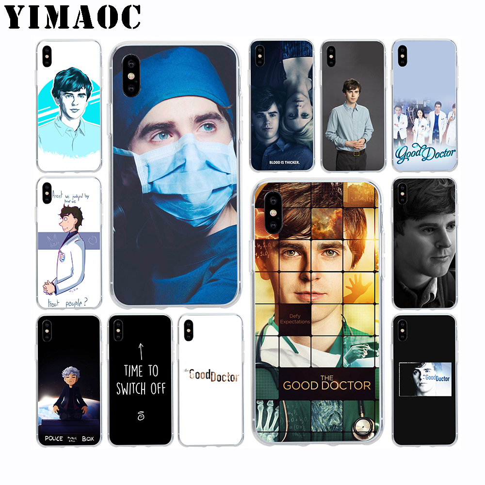 Yimaoc The Good Doctor Soft Tpu Silicone Case For Apple Iphone Xr Xs Max X 10 8 Plus 7 6s 6 Plus Se 5s 5 7plus 8plus Cover With The Best Service Phone Bags & Cases Cellphones & Telecommunications
