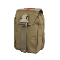 best outdoor Pouches EM Military First Aid Kit Medic Pouch new Tactical pouch Molle military airsoft Paintball combat gear