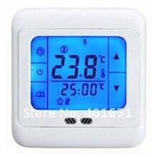 Программируемый 24 В LCD Сенсорный Дом/Номер Теплые Полы Термостат 3A